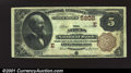 National Bank Notes:Pennsylvania, Athens, PA - $5 1882 Brown Back Fr. 477 Athens NB Ch. #...