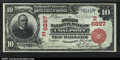 National Bank Notes:Pennsylvania, Coalport, PA- $10 1902 Red Seal Fr. 613 The First NB Ch...