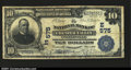 National Bank Notes:Pennsylvania, Coatesville, PA - $10 1902 Plain Back Fr. 624 The NB of C...