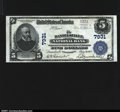 National Bank Notes:Pennsylvania, Danielsville, PA - $5 1902 Plain Back Fr. 598 Danielsvill...