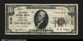 National Bank Notes:Pennsylvania, Delta, PA - $10 1929 Ty. 1 The Peoples NB Ch. # 5198 ...