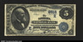 National Bank Notes:Pennsylvania, Ephrata, PA- $5 1882 Value Back Fr. 574 The Ephrata NB ...