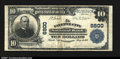 National Bank Notes:Pennsylvania, Fayette City, PA- $10 1902 Plain Back Fr. 624