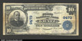 National Bank Notes:Pennsylvania, Gratz, PA- $10 1902 Plain Back Fr. 626 The First NB Ch....
