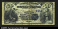 National Bank Notes:Pennsylvania, Johnstown, PA- $20 1882 Date Back Fr. 555 The United Stat...
