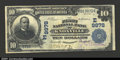 National Bank Notes:Pennsylvania, Knoxville, PA- $10 1902 Plain Back Fr. 627 The First NB...
