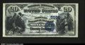 National Bank Notes:Pennsylvania, Monessen, PA- $20 1882 Date Back Fr. 555 The Peoples NB...