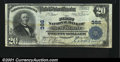 National Bank Notes:Pennsylvania, Mount Pleasant, PA- $20 1902 Plain Back Fr. 650 The First...