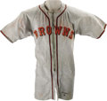 "Baseball Collectibles:Uniforms, 1946 Ellis Kinder Game Worn Jersey. He was known as ""Old Folks,"" almost certainly because he was a thirty-one year old rook..."
