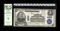 National Bank Notes:Pennsylvania, Waynesboro, PA - $5 1902 Plain Back Fr. 607 The Citizens NB Ch. #5832. ...