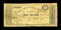 Obsoletes By State:Arkansas, Helena, AR- Helena Insurance Company $3 May 20, 1862 Rothert 281-5. An extremely rare denomination from this issuer, and lis...
