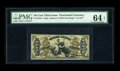 Fractional Currency:Third Issue, Fr. 1356 50¢ Third Issue Justice PMG Choice Uncirculated 64 EPQ. Boldly signed, with good color and the coveted EPQ designat...