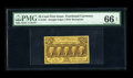 Fractional Currency:First Issue, Fr. 1281 25¢ First Issue PMG Gem Uncirculated 66 EPQ. Beautifully margined, beautifully bright and a note that appears to ha...