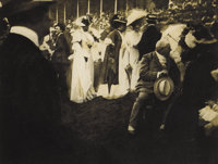EDWARD STEICHEN (American 1879-1973) Steeplechase Day, Paris, 1903 Photo grauvre for Camera Work 8 x 6 inches (20.3 x