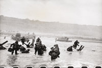 ROBERT CAPA (American 1913-1954) Attack Pictures Sequence D-Day Invasion-Images of War (Sequence B), 1944 Gelatin