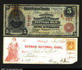 National Bank Notes:Pennsylvania, Pittsburgh, PA - $5 1902 Red Seal Fr. 587 German NB Ch....
