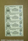 National Bank Notes:Pennsylvania, Pittsburgh, PA- $5-5-5-5 !902 Plain Back Fr. 598 The Mell...