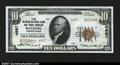 National Bank Notes:Pennsylvania, Reading, PA- $10 1929 Ty. 2 The Reading NB & TC Ch. # 4...