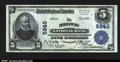 National Bank Notes:Pennsylvania, Ridgway, PA- $5 1902 Plain Back Fr. 608 The Ridgway NB ...
