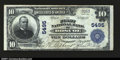 National Bank Notes:Pennsylvania, Roscoe, PA - $10 1902 Plain Back Fr. 633 The First NB C...