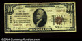 National Bank Notes:Pennsylvania, Shingle House, PA- $10 1929 Ty. 2 The First NB Ch. # 67...