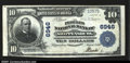 National Bank Notes:Pennsylvania, Shippensburg, PA- $10 1902 Plain Back Fr. 624 The Peoples...