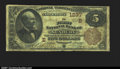 National Bank Notes:Pennsylvania, Sunbury, PA- $5 1882 Brown Back Fr. 468 The First NB Ch...