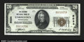 National Bank Notes:Pennsylvania, Uniontown, PA - $20 1929 Ty. 1 The Second NB Ch. # 5034...