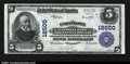 National Bank Notes:Pennsylvania, Uniontown, PA- $5 1902 Plain Back Fr. 609 The Uniontown N...