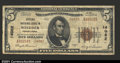National Bank Notes:Pennsylvania, Windber, PA- $5 1929 Ty. 2 Citizens NB Ch. # 14082A g...