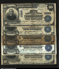 National Bank Notes:Pennsylvania, Five Pennsylvania Large Size Notes.Connellsville, PA ...