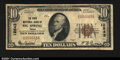 National Bank Notes:Texas, Big Spring, TX - $10 1929 Ty. 1 State NB Ch. # 12543T...