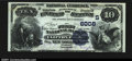 National Bank Notes:Virginia, Clifton Forge, VA- $10 1882 Value Back Fr. 577 The First ...