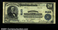 National Bank Notes:Virginia, Tazewell, VA- $20 1902 Plain Back Fr. 660 Tazewell NB C...