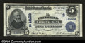National Bank Notes:West Virginia, Bluefield, WV - $5 1902 Plain Back Fr. 606 The Bluefield ...
