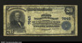 National Bank Notes:West Virginia, Hendricks, WV- $20 1902 Fr. 651 The First NB Ch. # 7845...
