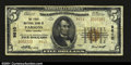 National Bank Notes:West Virginia, Parsons, WV - $5 1929 Ty. 2 The First NB Ch. # 9610Th...