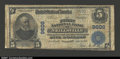National Bank Notes:Wisconsin, Neillsville, WI- $5 1902 Plain Back Fr. 600 The First NB...