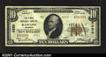 National Bank Notes:Wyoming, Rawlins, WY- $10 1929 Ty. 2 The First NB Ch. # 4320Ve...