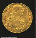 Colombia: , Charles IV gold 8 escudos 1816 NR-JF, Bust right with date ...