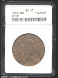 Early Half Dollars: , 1801 50C