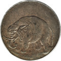 Colonials, (1694) TOKEN London Elephant Token, Thick Planchet MS63 BrownPCGS....