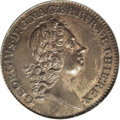 Colonials, Undated 2PENCE Rosa Americana Twopence, Label AU55 PCGS....