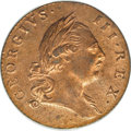 Colonials, 1773 1/2P Virginia Halfpenny, Period MS64 Red PCGS....