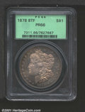 Proof Morgan Dollars: , 1878 8TF S$1