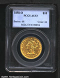 Liberty Eagles: , 1858-O $10