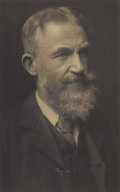 Photography :Other , ERNEST WATLER HISTED (British-American 1862-1947) . A Photgraphof George Bernard Shaw, circa 1905. 4 x 6-3/4 inches (10...