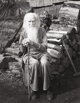 IMOGEN CUNNINGHAM (American 1883-1976) My Father at 90, 1936 Gelatin silver print, mounted 9-1/2 x 7-1/2 inches (24.1