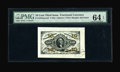 Fractional Currency:Third Issue, Fr. 1253SP 10¢ Third Issue Wide Margin Face PMG Choice Uncirculated 64 EPQ. A handsome Hand Signed Specimen note with the im...