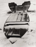 Photographs, MINOR WHITE. Essence of a Boat, circa 1960. Gelatin silver print, mounted. 7 x 9 inches (17.8 x 22.9 cm). Provenance:...